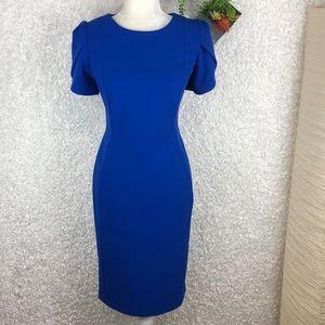 NWOT Calvin Klein Blue Career Dress | 10